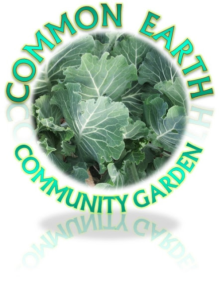 Common Earth Community Garden logo