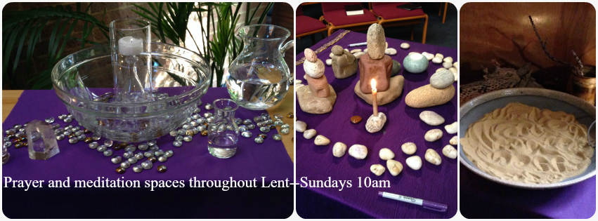 Lent Prayer Stations 3 - First United Church of Arvada
