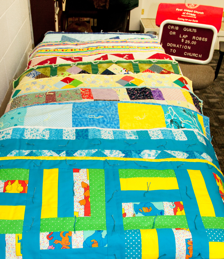 Quilts done by the Quilter's Group